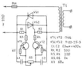 Светомузыка на одном транзисторе - YouTube